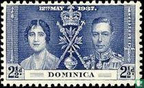 Koning George VI en koningin Elizabeth