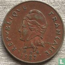 Frans-Polynesië 100 francs 1987