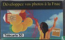Développez vos photos á la Fnac