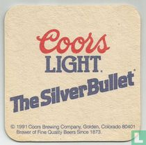 Coors The Silver Bullet