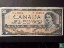 Canada 50 dollar 1954