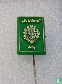 """""""ST. Walburga"""" [goud op groen]"""