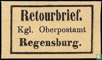 Retourbrief Regensburg