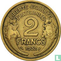 Frankrijk 2 francs 1932
