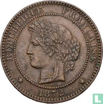France 10 centimes 1872 (A)