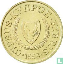 Cyprus 5 cents 1998