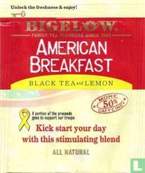 Black Tea and Lemon