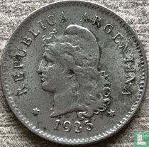 Argentina 10 centavos 1935