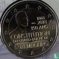 """Luxembourg 2 euro 2018 (Sint Servaasbrug) """"150 years of the Luxembourg Constitution"""""""