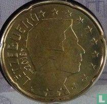Luxembourg 20 cent 2018 (Sint Servaasbrug)