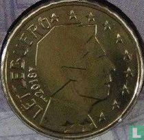 Luxembourg 10 cent 2018 (Sint Servaasbrug)