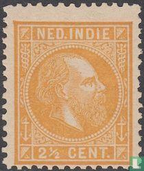 Koning Willem III (12½:12 grote gaten)