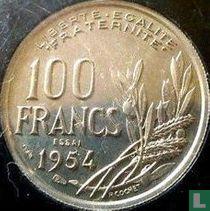 Frankrijk 100 francs 1954 (proefslag)