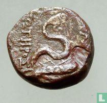 Pergamon, Mysia  AE19  200-0 BCE