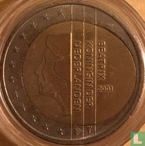 Netherlands 2 euro 2001 (misstrike)