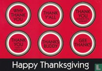 "Lucky Strike ""Happy Thanksgiving"""
