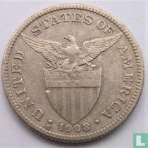 Filipijnen 50 centavos 1908
