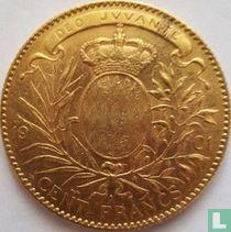 Monaco 100 francs 1901