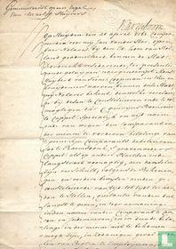 Volmacht akte 1761