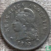 Argentinië 10 centavos 1913