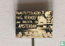 G. Verhoef Kwaliteitsslagerij Amsterdam