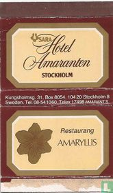 Sara Hotel Amaranten / Restaurang Amaryllis