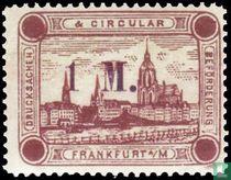 Stadt Frankfurt (mit Aufdruck)