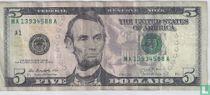 Verenigde Staten 5 dollars 2013 A