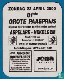 81ste Grote paasprijs - Aards of Bovenaards ?