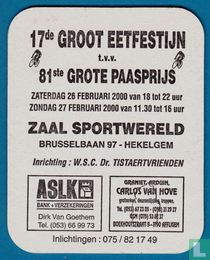 81ste Grote paasprijs - Reëel of Virtueel ?