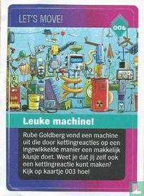 Leuke machine!