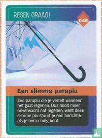 Een slimme paraplu