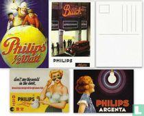 Philips Reclame kaarten (set van 4)