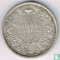 Brits-Indië ¼ rupee 1940 (Calcutta)
