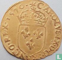 France 1 gold ecu 1570 (H)