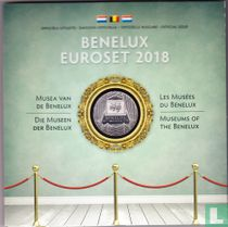 """Benelux mint set 2018 """"Museums of the Benelux"""""""