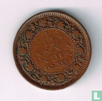 Brits-Indië 1/12 anna 1939 (1e hoofd - Bombay)