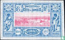 Stadtbild Dschibuti