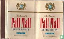 Rothmans Pall Mall Super Lights Export