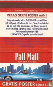 Pall Mall Export filter - Gratis Poster 150x65 cm