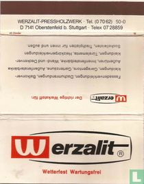 Werzalit - Wetterfest Wartungsfrei