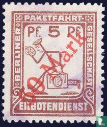 Berlijnse sneldienst (met opdruk)
