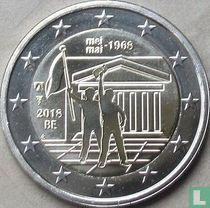 """Belgium 2 euro 2018 """"50 years Student Revolt of May 1968"""""""