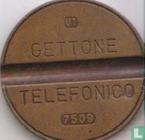 Gettone Telefonico 7509 (UT)
