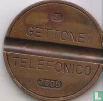 Gettone Telefonico 7605 (UT)