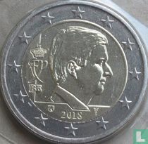 Belgium 2 euro 2018