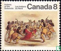 Dans van de Kutcha-Kutchin Indianen