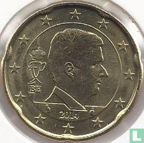 Belgium 20 cent 2014