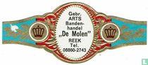 """Gebr. ARTS Banden-handel """"De Molen"""" Reek Tel. 08860-2743"""