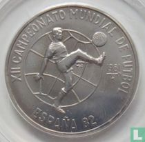 "Cuba 1 peso 1981 ""1982 Soccer World Cup in Spain"""